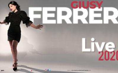 GIUSY FERRERI, A MARZO LIVE IN SICILIA