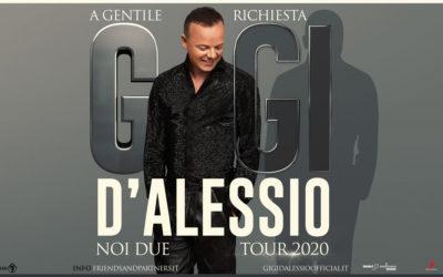 GIGI D'ALESSIO – RINVIO SPETTACOLI