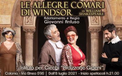 """""""Le allegre comari di Windsor"""" – Commedia teatrale di William Shakespeare"""