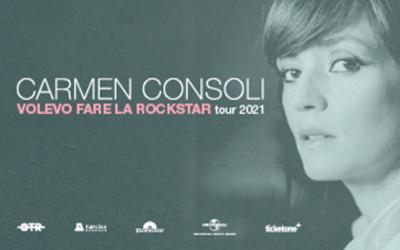 Carmen Consoli nel 2021 live a Catania e Palermo