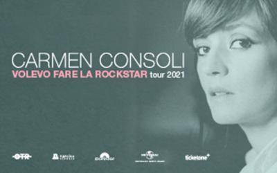 Carmen Consoli, a dicembre in concerto a Catania e Palermo
