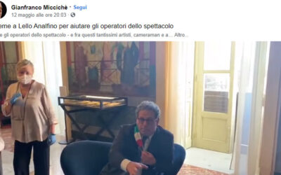 Speranza e sostegno ai lavoratori dello spettacolo in Sicilia: nasce un progetto