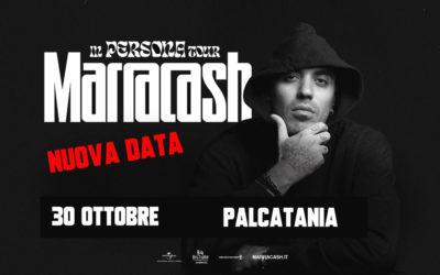 Marracash – rinvio concerto: nuova data 30 ottobre PalaCatania