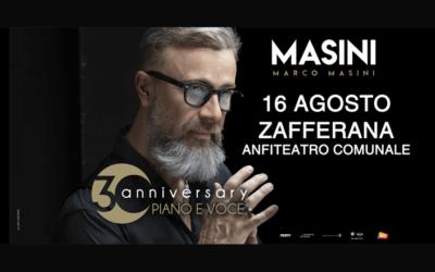 Marco Masini ai microfoni di Radio Studio Centrale